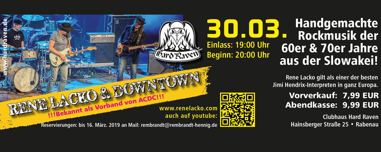 Konzert Rene Lacko & Downtown
